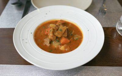 Beef, Barley, & Mushoom Soup