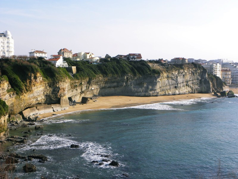 Falaises Biarritz