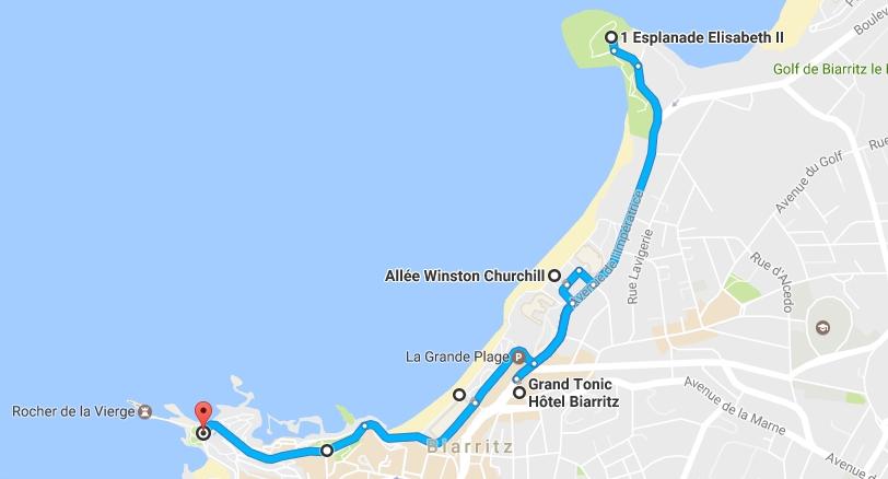 chemin de la forme biarritz