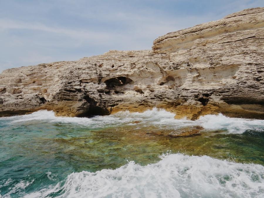 falaises bonifacio corse du sud