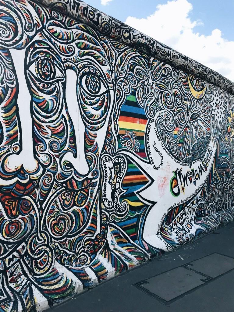 east gallery mur de berlin allemagne