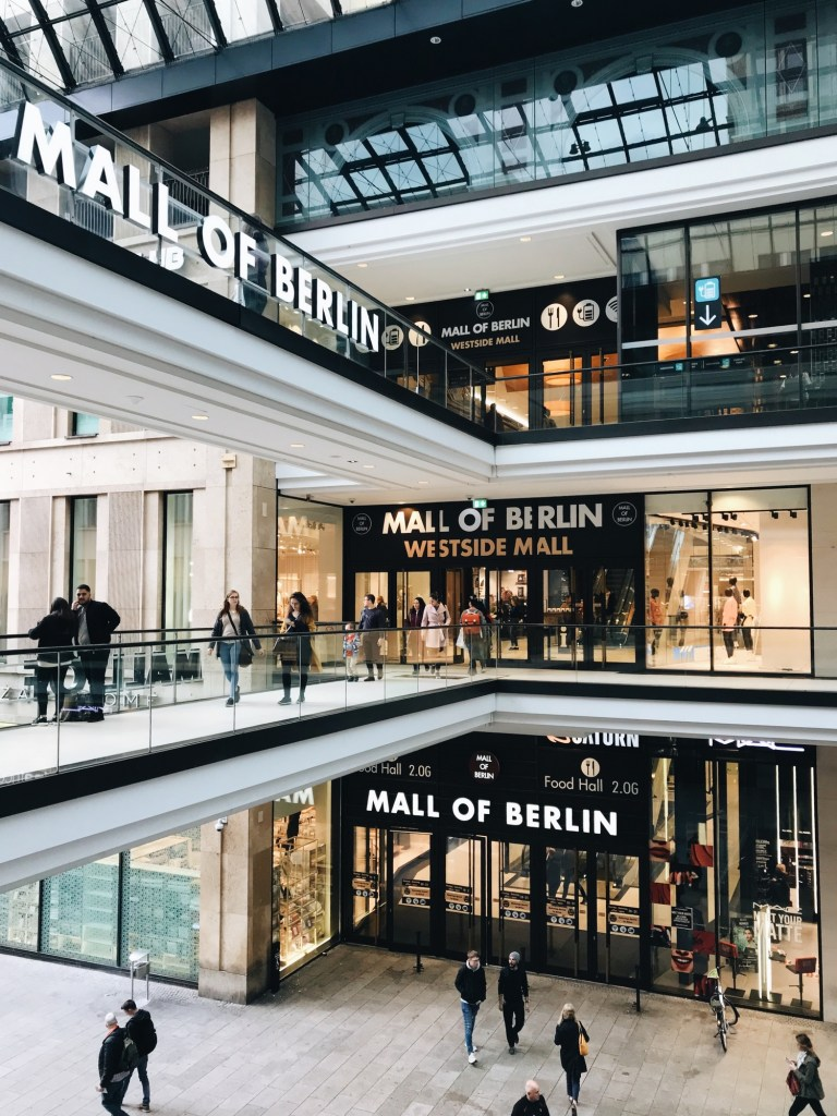 mall of berlin shopping allemagne