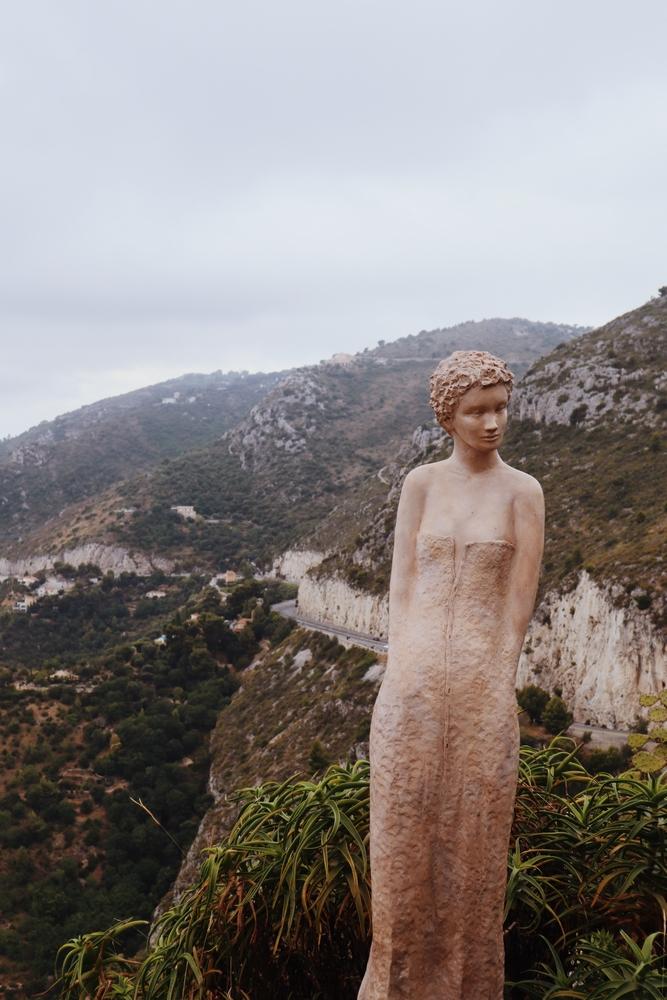 statue jardin exotique eze village