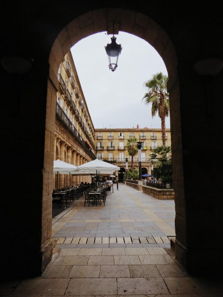 plaza nueva bilbao espagne