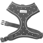 Crystal Airmesh Dog Harness In Charcoal
