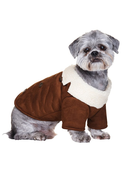 Brown-Shearling-Aviator-Dog-Coat-2