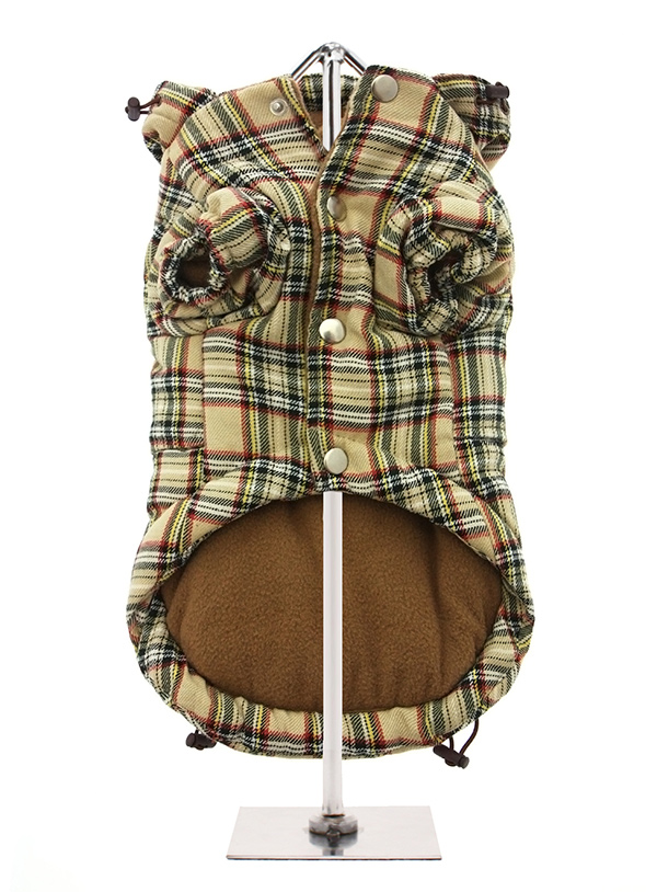 Brown-Tartan-Quilted-Dog-Coat-3