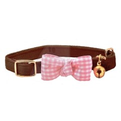 funky-Bow-Cat-Collar-brown