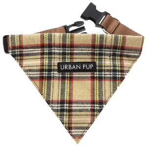Brown-Tartan-Dog-Bandana