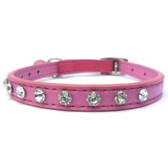 Raspberry-Ice-Crystal-Cat-Collar