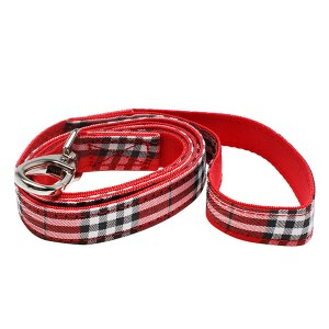 Red-Tartan-Dog-Lead