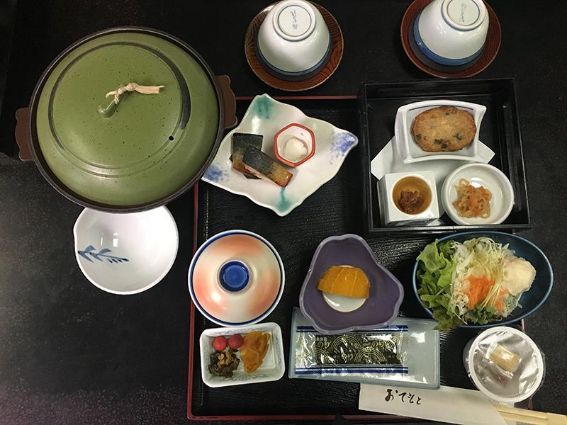 Atsuhime-Tei breakfast