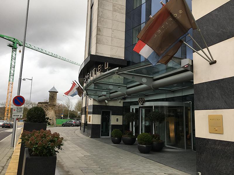 盧森堡大公爵索菲特酒店 Sofitel Luxembourg Le Grand Ducal