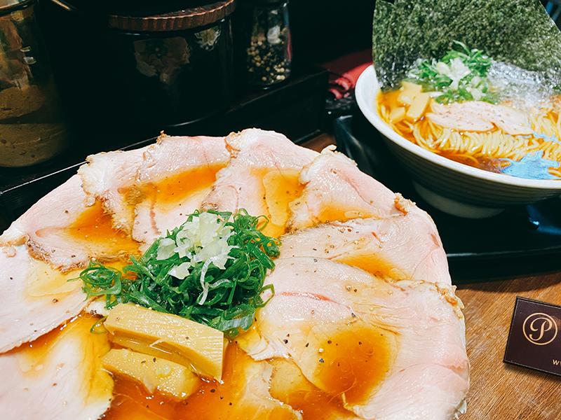 鷹流東京醬油拉麵蘭丸