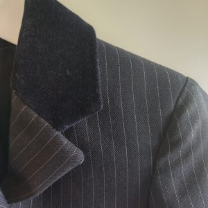 """Showing Selection 21"""" Navy Pinstripe"""