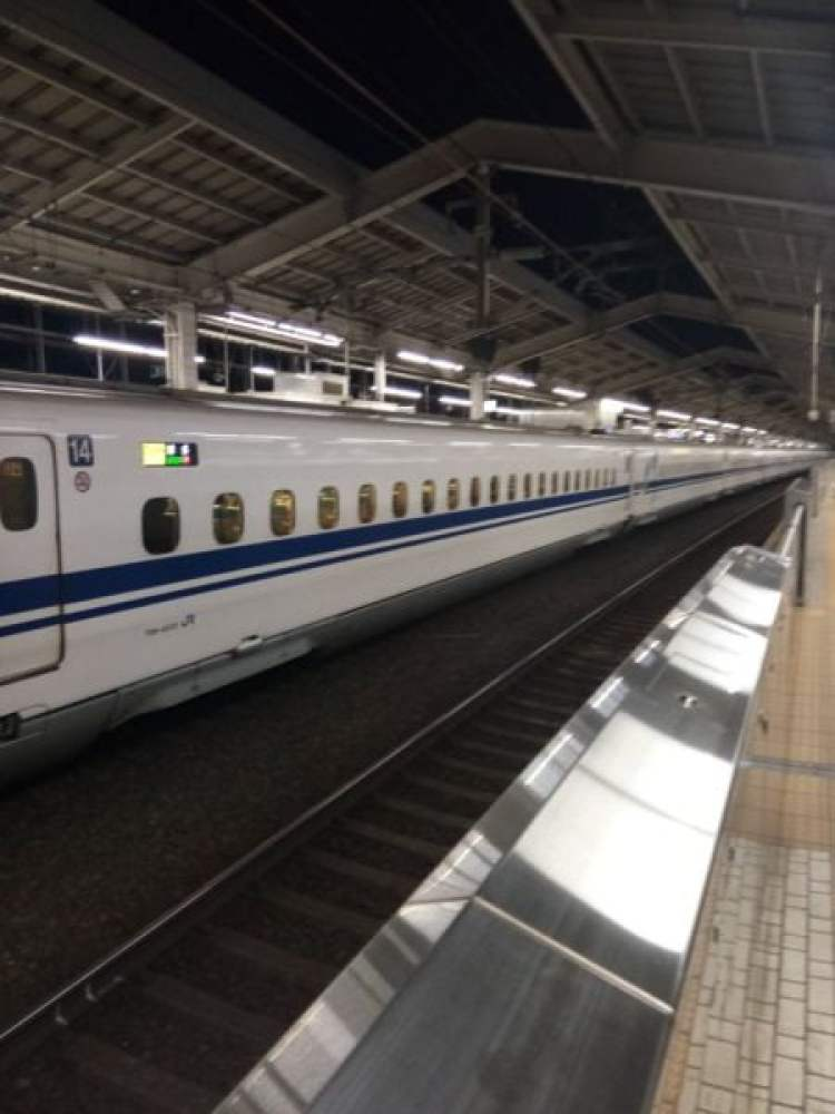 a journey to japan bullet train