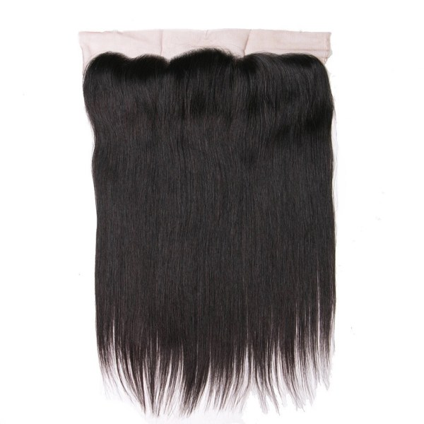 Deluxe Straight HD Swiss Lace Frontal 13×4 – Free Part