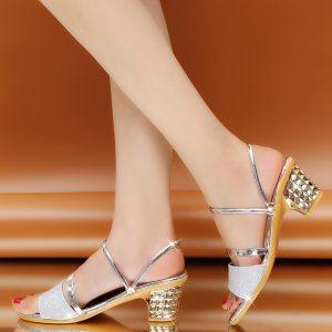 Glitter Style Slip On Sandal