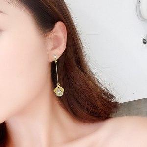 Long Flashing Earrings