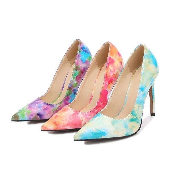 Luxury High Heels Colorful 11cm Pumps