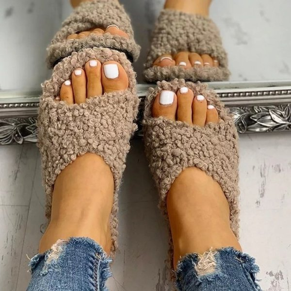 Furry Comfy Slippers