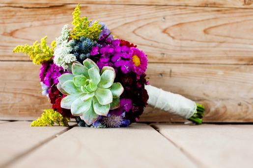 Favorite Friday: Wildflower Wedding