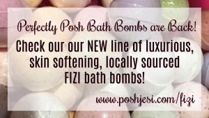 Posh Fizi Bath Bombs