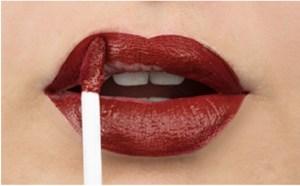 vial lip stain
