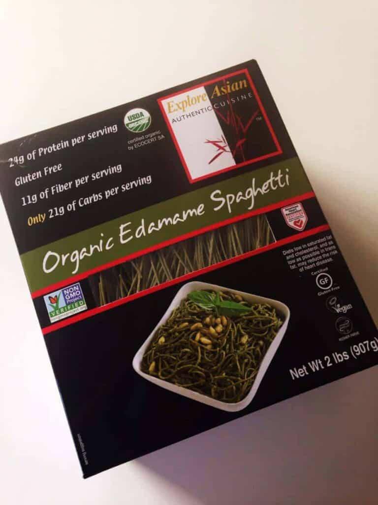 Explore Asia Organic Edamame Spaghetti
