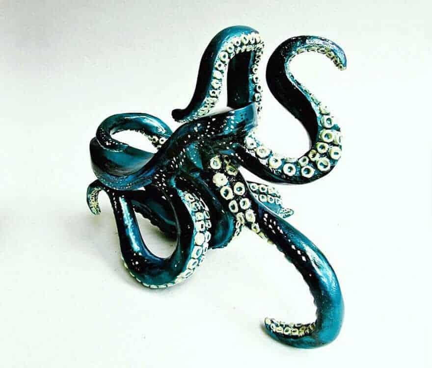 octopus-inspired high heel