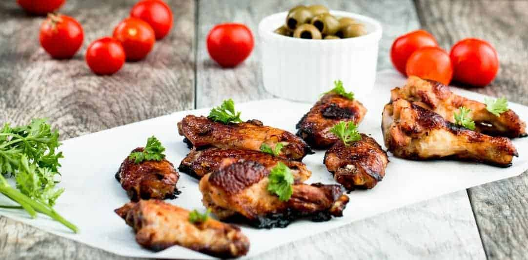 Five Spice Ginger Soy Glaze Chicken Wings Recipe