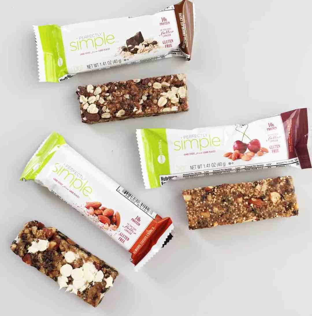 Fit and Balance Life with ZonePerfect Perfectly Simple Nutrition Bar