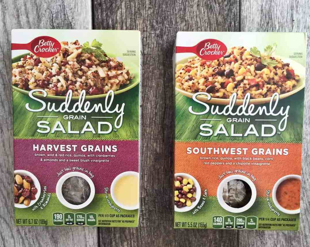 Suddenly Grain Salad