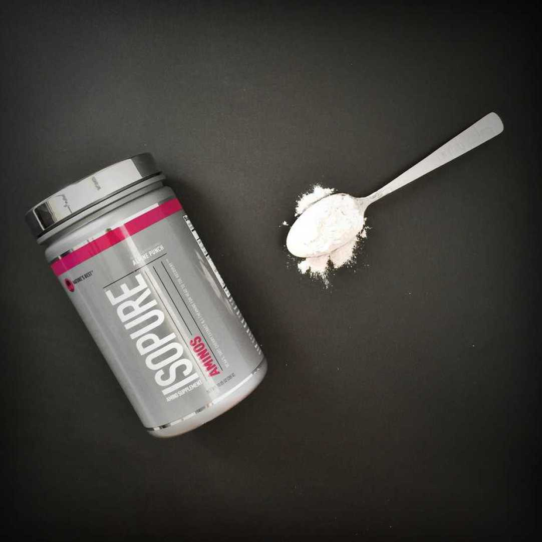 Support Muscle Recovery and Reduce Soreness with Isopure Aminos