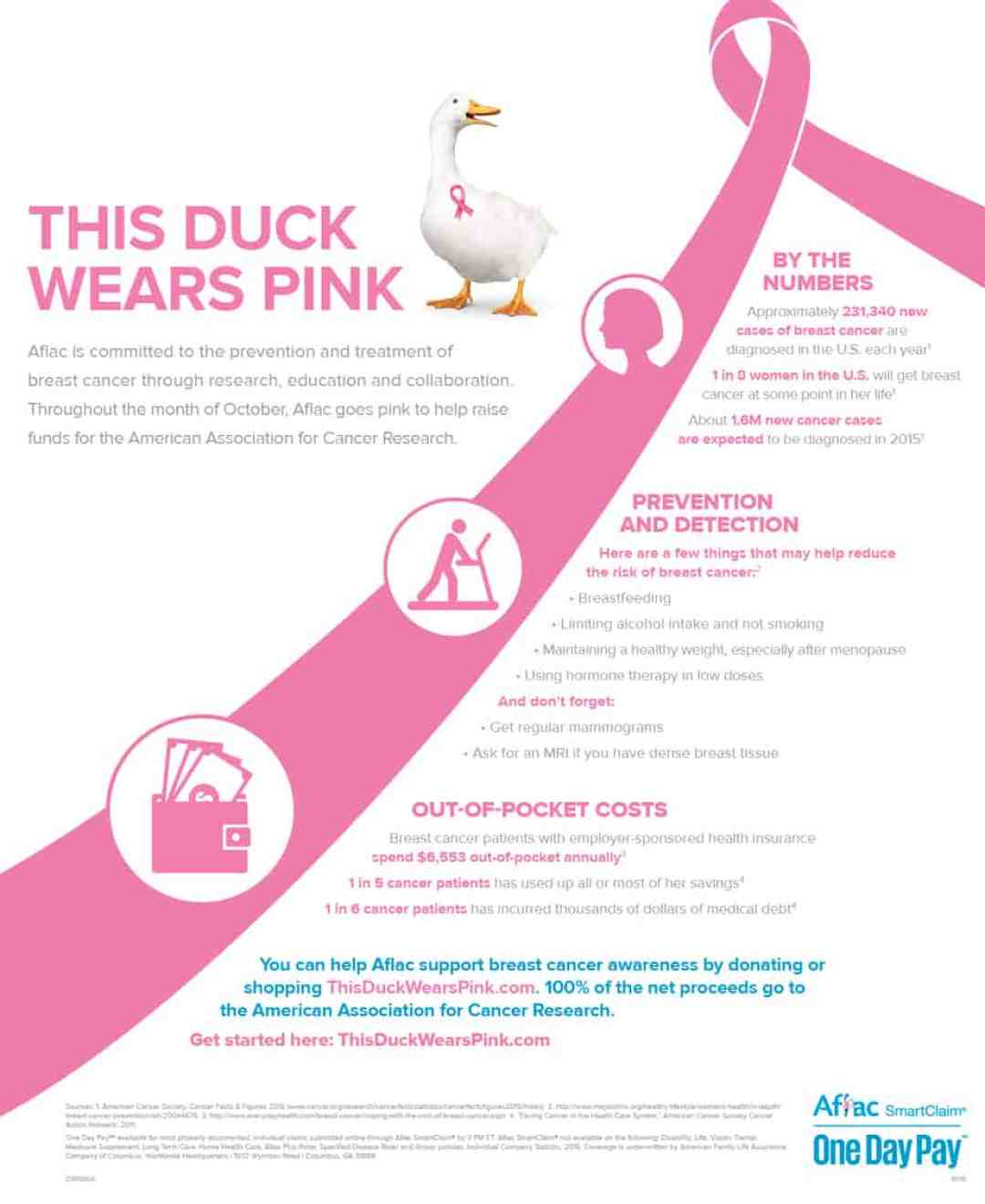 Breast Cancer Awareness Month : What You Should Know about Breast Cancer #ThisDuckWearsPink #ad