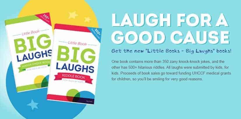 Joke Books Written B Kids, For Kids! Proceeds go Towards an Amazing Cause! #UHCCFjokes
