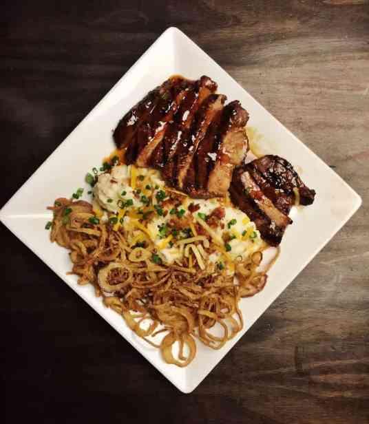 Dave & Buster's Teriyaki Steak
