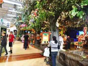 The Rainforest Café Ontario Mils