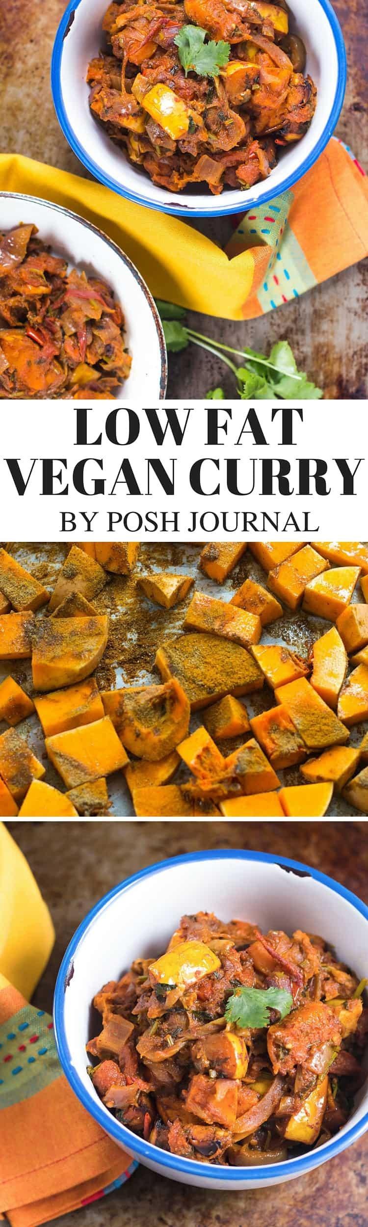 low fat vegan curry