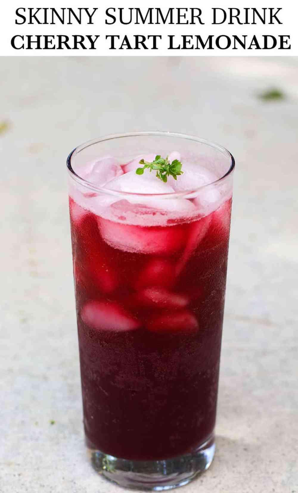 SKINNY-SUMMER-DRINK-CHERRY-TART-LEMONADE