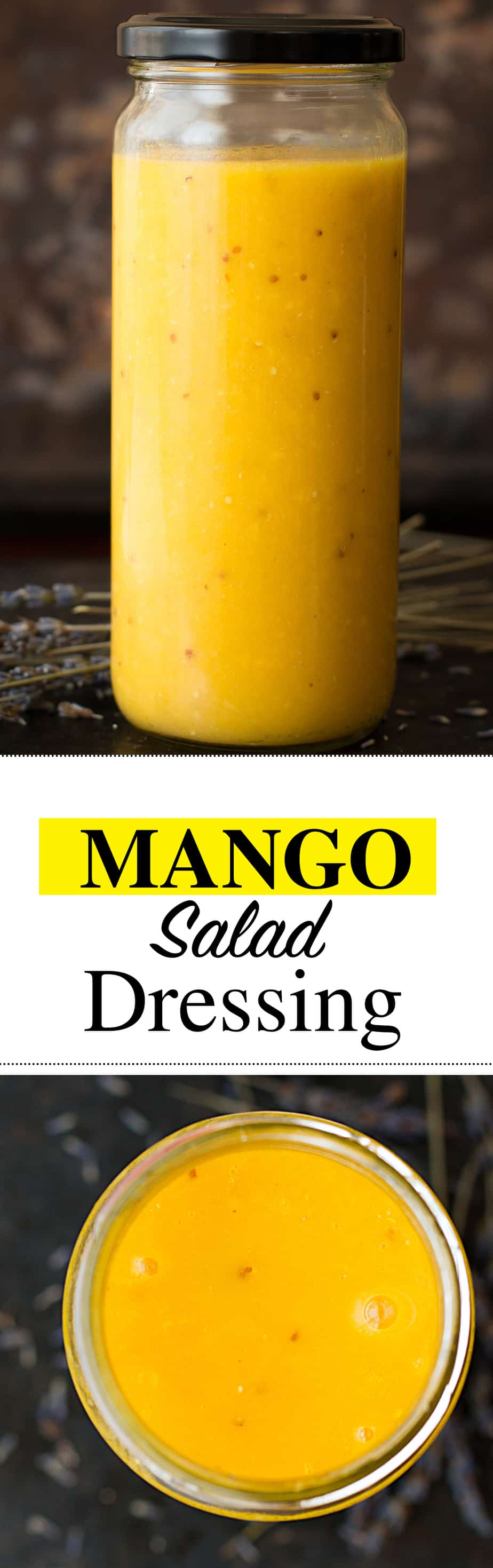 Mango Salad Dressing - Posh Journal