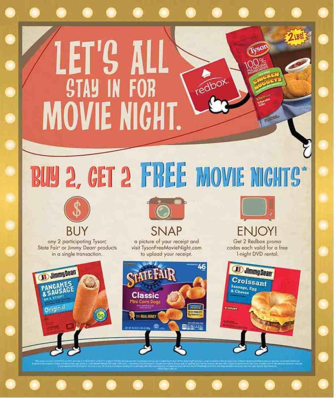 movie night tyson walmart