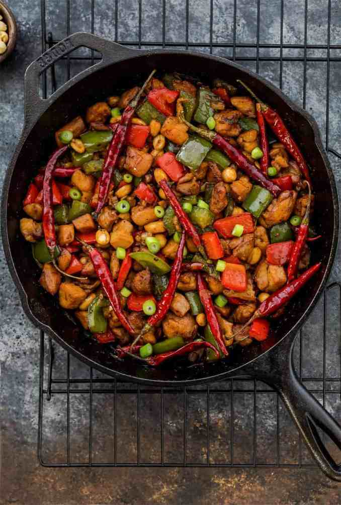Easy Kung Pao Chicken Recipe (Better Than Takeout Chinese