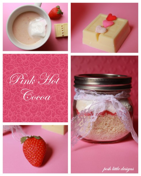 pink hot cocoa mix