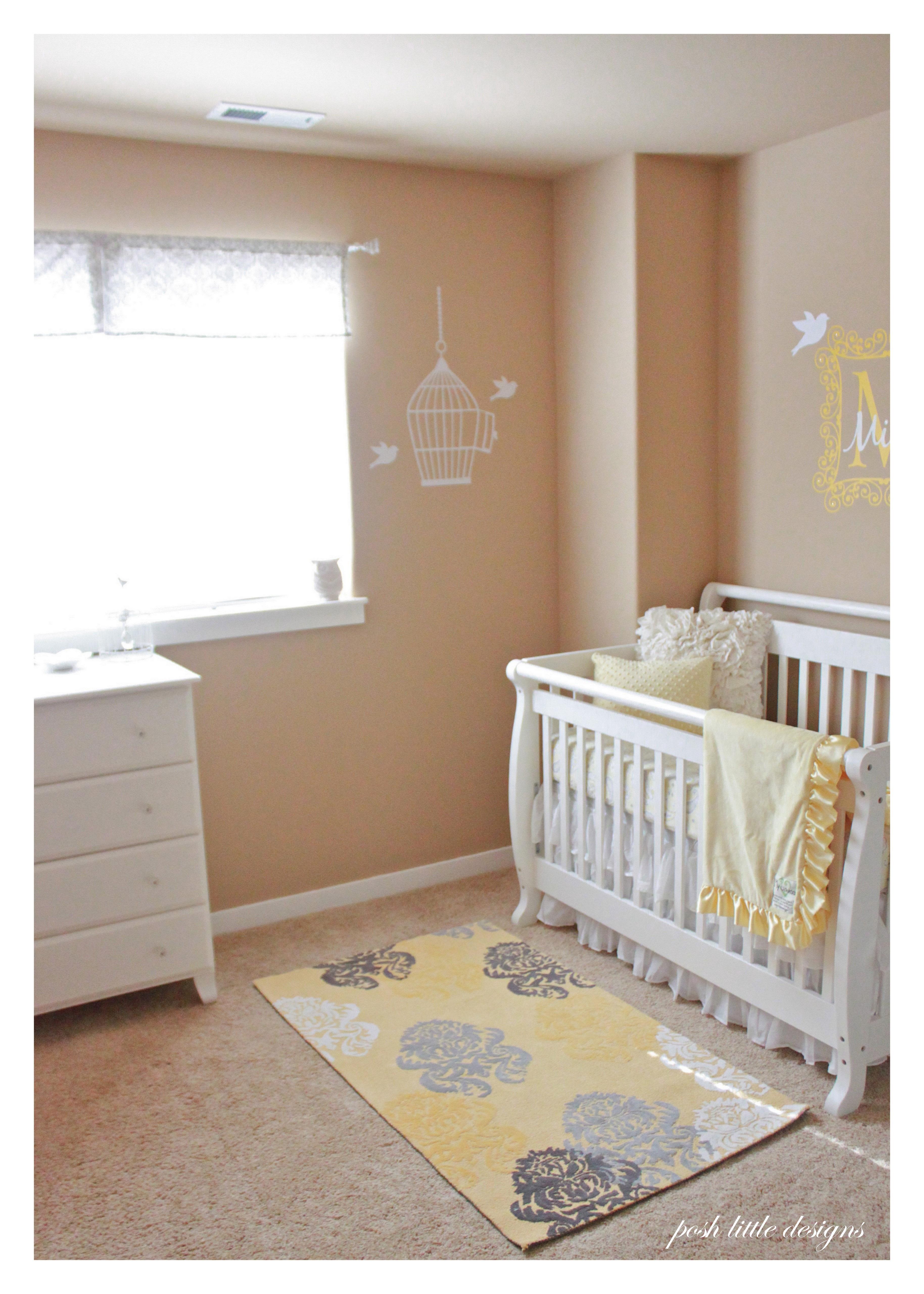 yellow rug for nursery  Home Decor