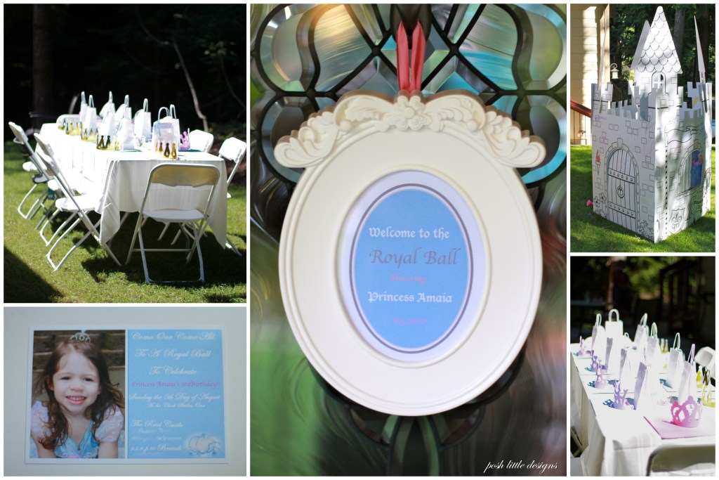 Real Parties ~ A Cinderella Birthday Celebration