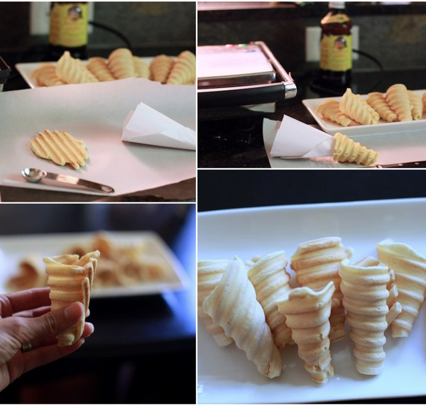 Make – Homemade Ice-cream Cones
