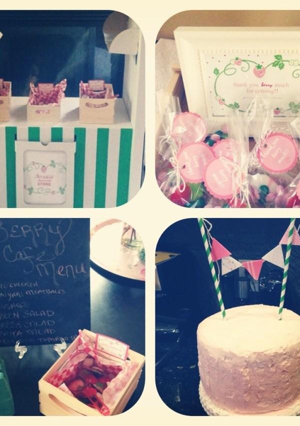 Strawberry Shortcake Party sneak peek