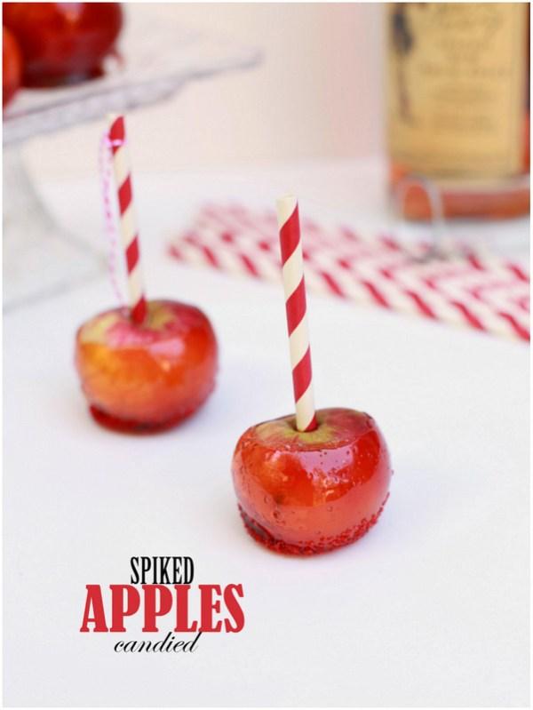 Make: Spiked Candied Apples (V)