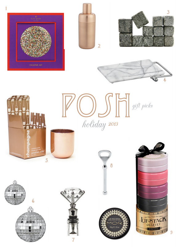 Posh Holiday Gift Picks